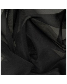 Silk organza black