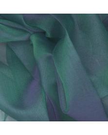 Silk organza fabric mineral 45x48 cm