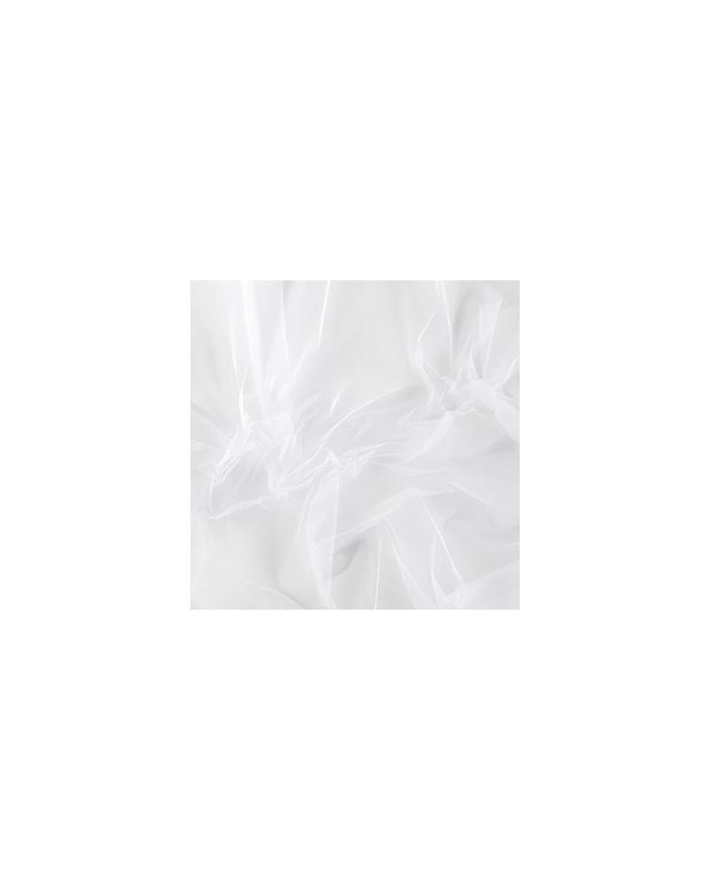 Zijden tule wit