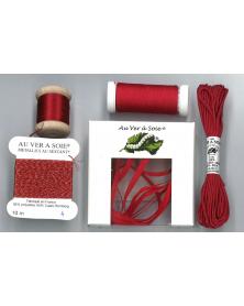 Ontdekpakket surfine ruban rood (PACK DECOUVERTE)