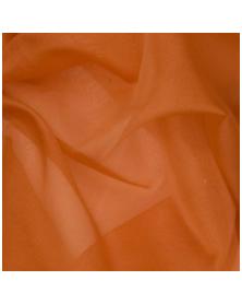 Zijden organza henna 45x48 cm
