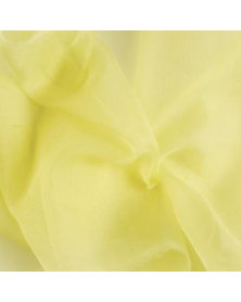 Silk organza primrose 45x48 cm
