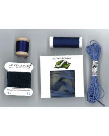 Ontdekpakket surfine ruban blauw violet (PACK DECOUVERTE)