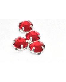 Gezette kristallen rose 3,5 mm