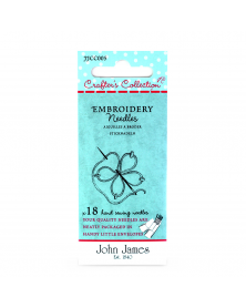Embroidery 7/10 John James Crafters Collection