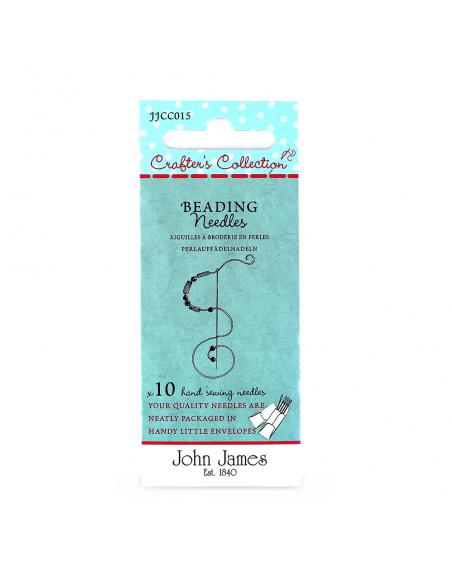 Kralennaalden set 10/12 John James Crafters Collection