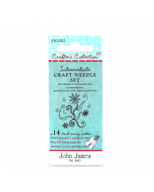 Gevorderden 'craft' naalden set John James Crafters Collection