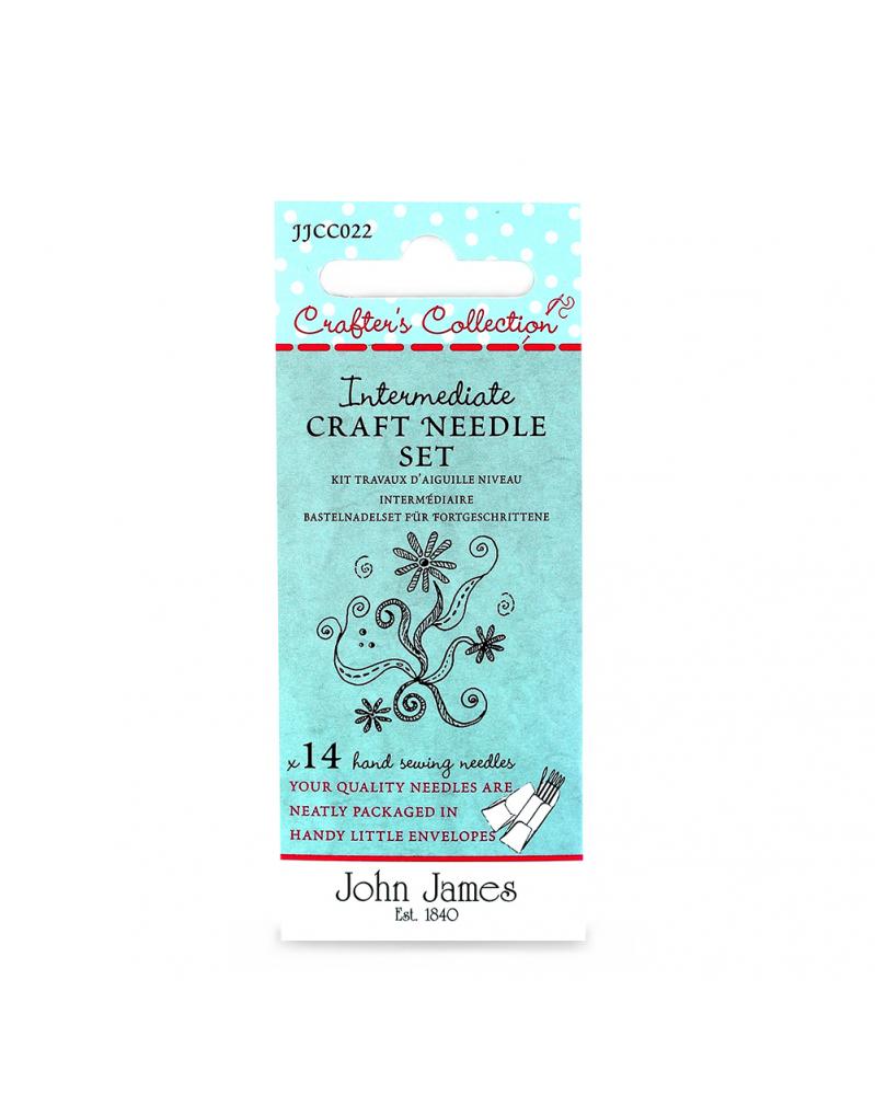 Gevorderden 'craft' naalden set John James Crafters Collection