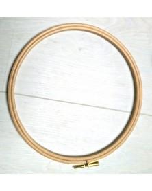 Houten borduurring 20 cm diameter