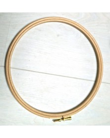 Wooden embroidery ring 20 cm diameter
