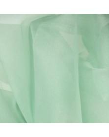 Zijden organza perpermunt 45 x 48