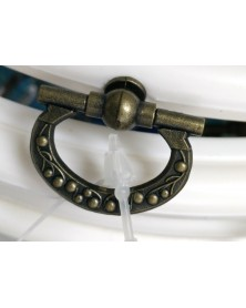 Sierring borduurring en kader in één 20 cm buiten diameter