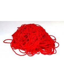 Geregen kraal aardbei rood 3-cut 11/0 per bundel