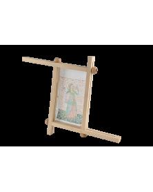 Borduurraam hout 112x72