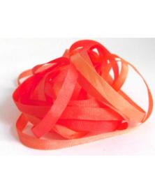 shifting color silk ribbon, Au ver a Soie 4 mm wide, per 3 meter