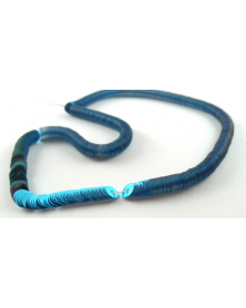 Laced Paillette blue mirror 5 mm