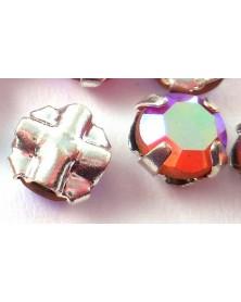 Gezette kristallen zilverkleur 3,5mm