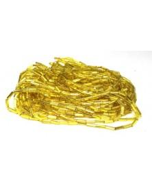 Geregen tube geel zilver...