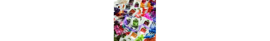 Silk ribbon--thread, ribbon and fabric-Myrville